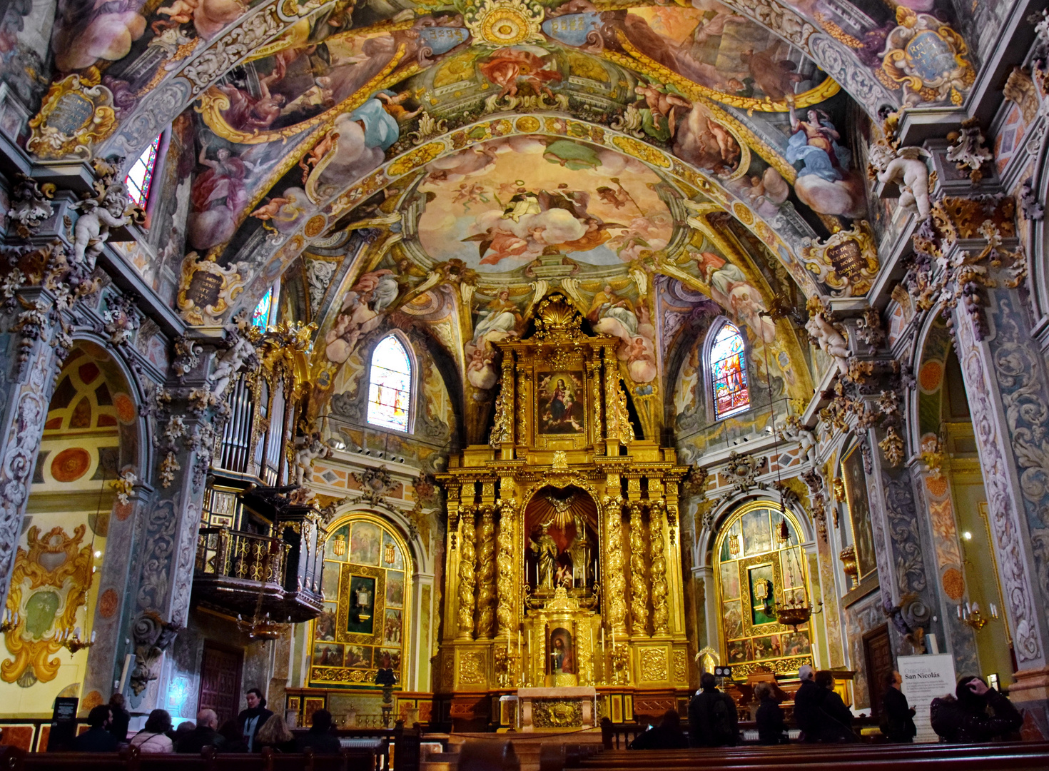 Valencia: San Nicolás Kirche