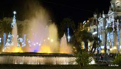 Valencia - Spanien - bei Nacht - Valencia - Espana - de noche