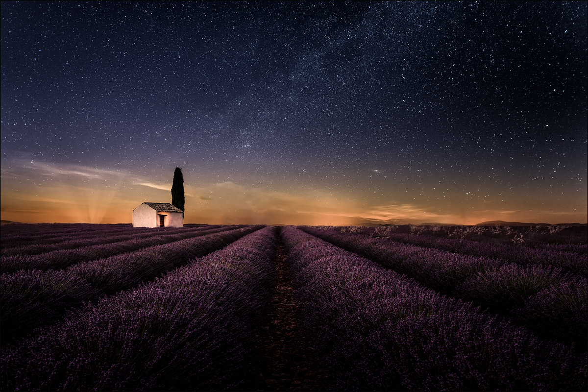 Valensole night
