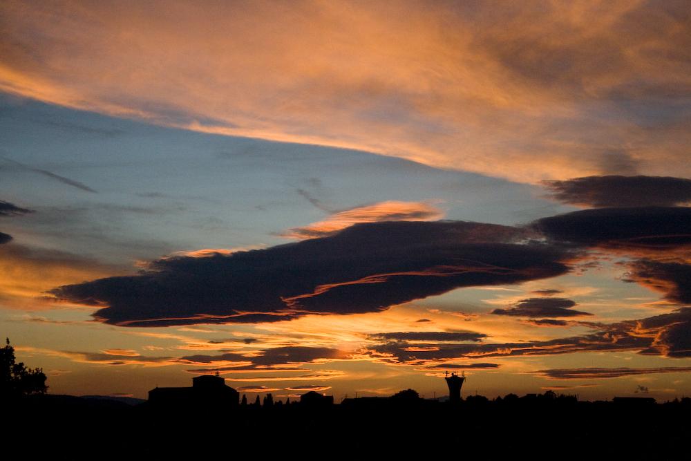 valensole - skyline