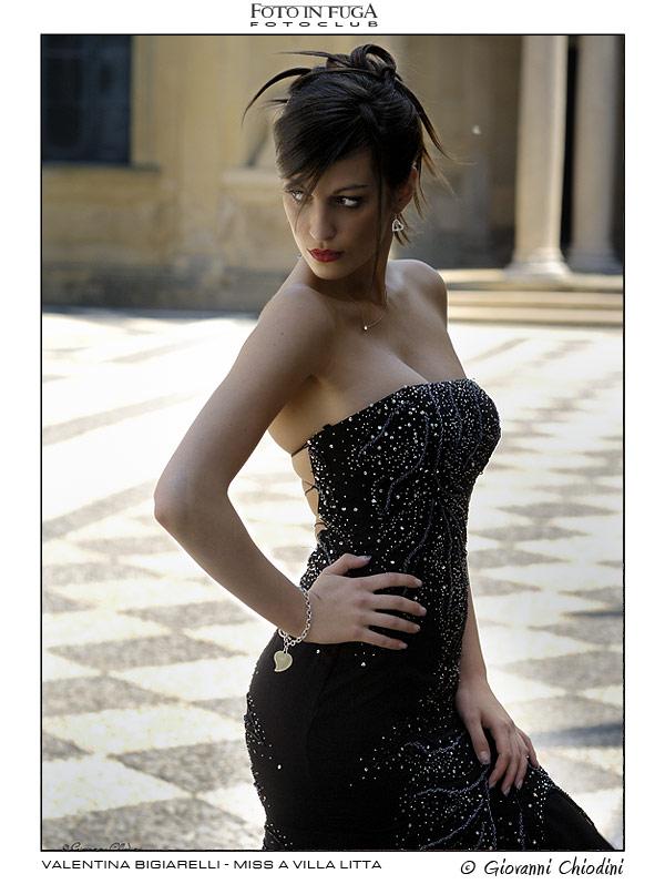 Valentina Bigiarelli - Prima Miss 2010 - una Miss a Villa Litta di Lainate