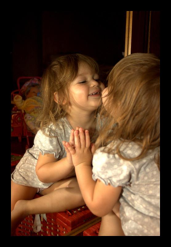 Valentina e lo specchio