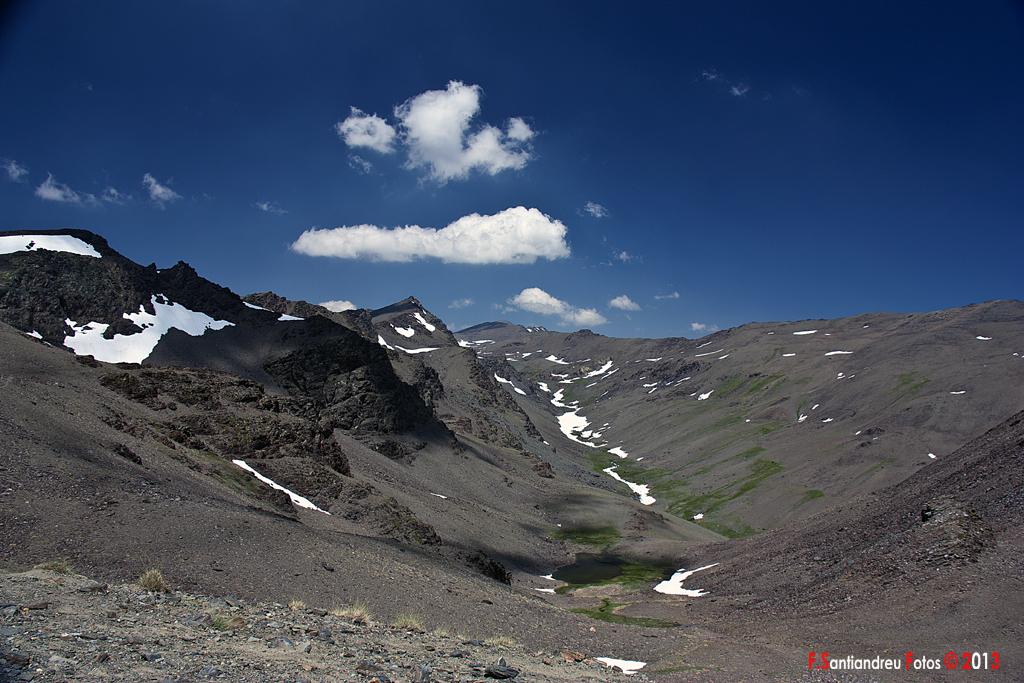 Valle del Rio Lanjaron. Sierra Nevada. Granada.