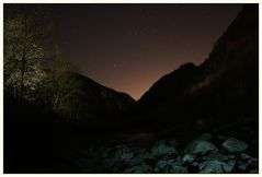 Valle Maggia at Night