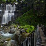 Vallesinella Waterfalls