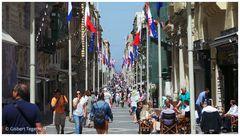 Valletta - Einkaufstraße - Republic Street