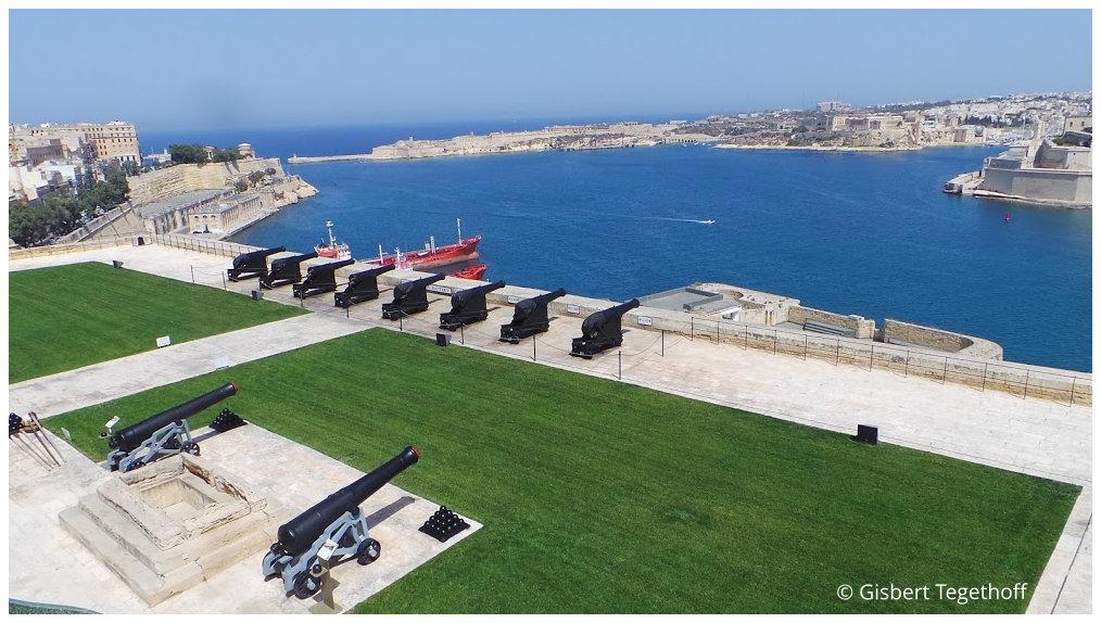 Valletta - Upper Barrakka Gardens