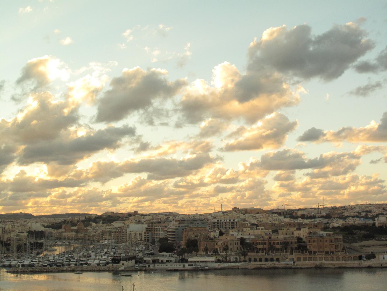Valletta Wolkenhimmel 3