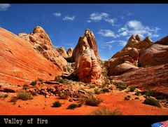 Valley of fire ..