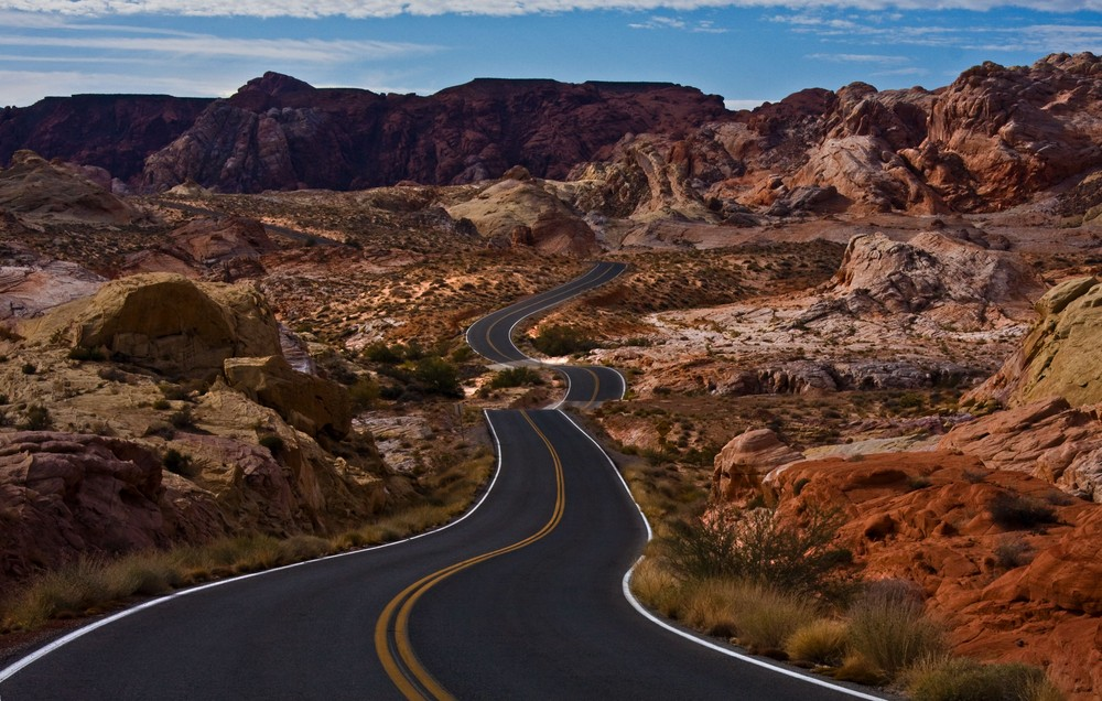 "Valley of Fire ""Traumstrasse"""