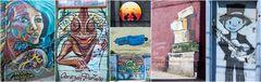 Valparaiso - Graffiticollage