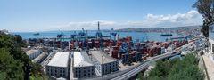 Valparaiso - Hafenpanorama