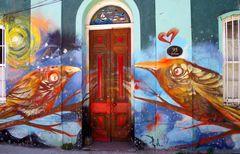 Valparaiso: Hauseingang