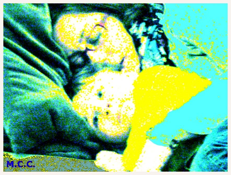 Vamos a dormir a mamá.