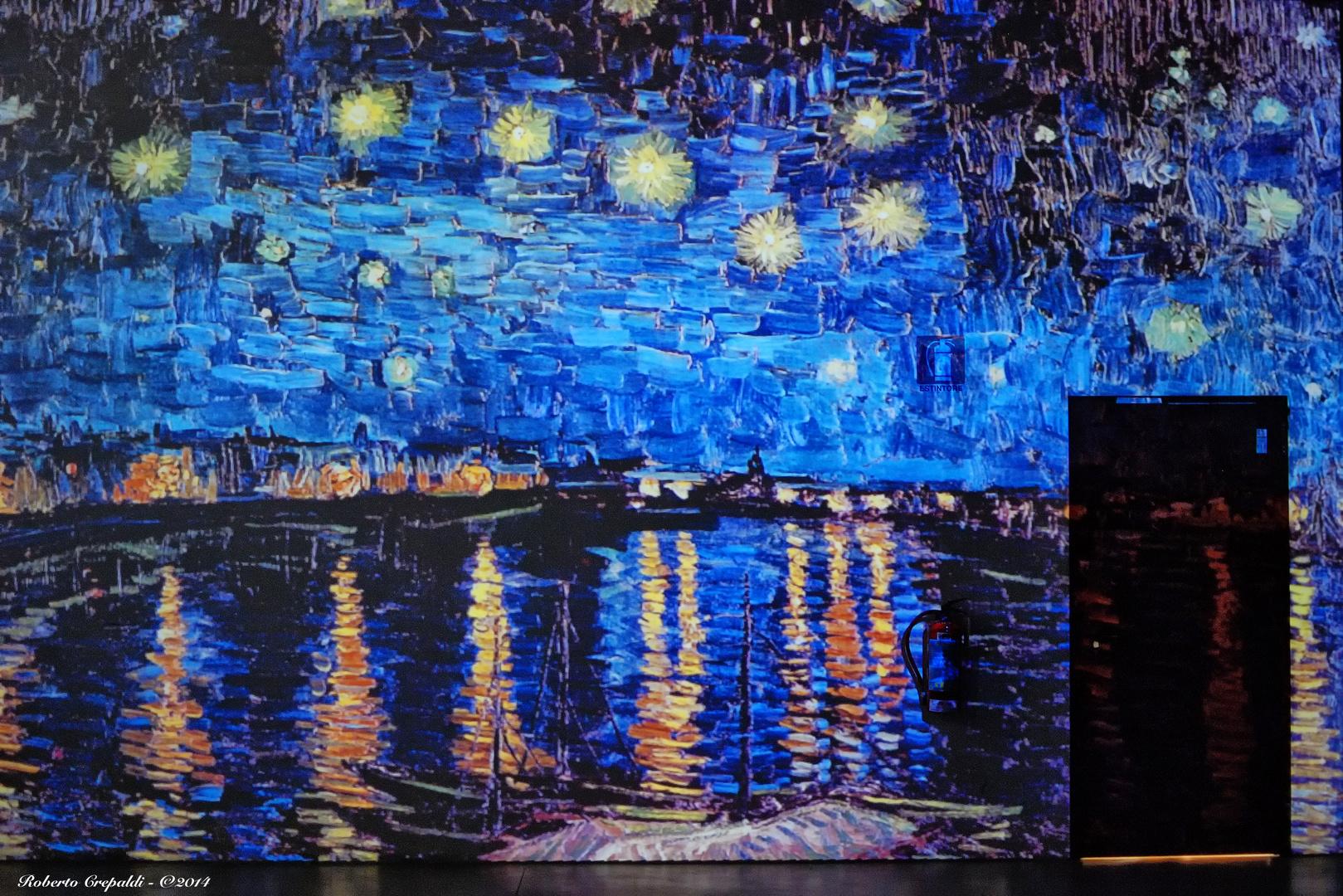 Van Gogh Alive, notte stellata