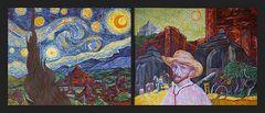 Van Gogh an Bord