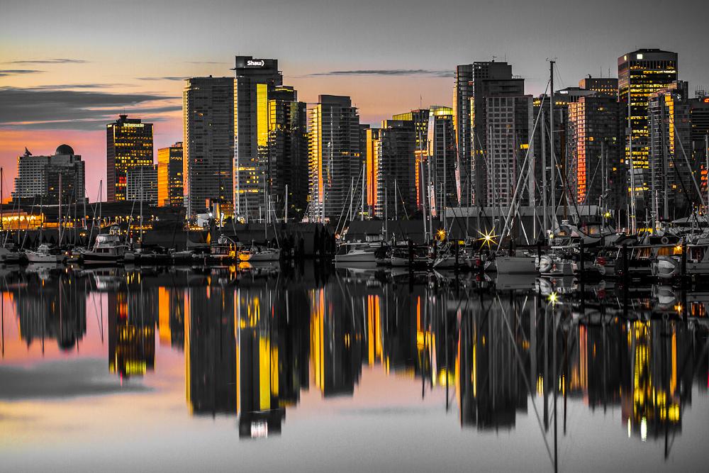Vancouver au petit jour