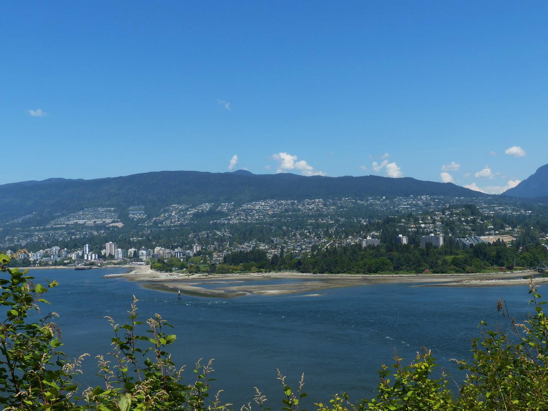 Vancouver B.C. Aussicht von Prospect Pont.