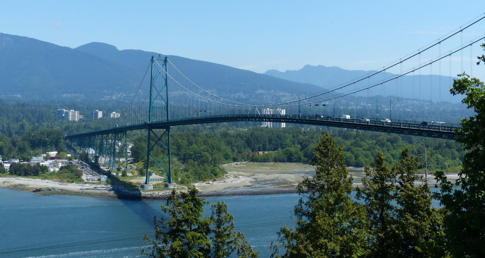 Vancouver B.C. Aussicht von Prospect Pont