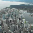 Vancouver BC from the air