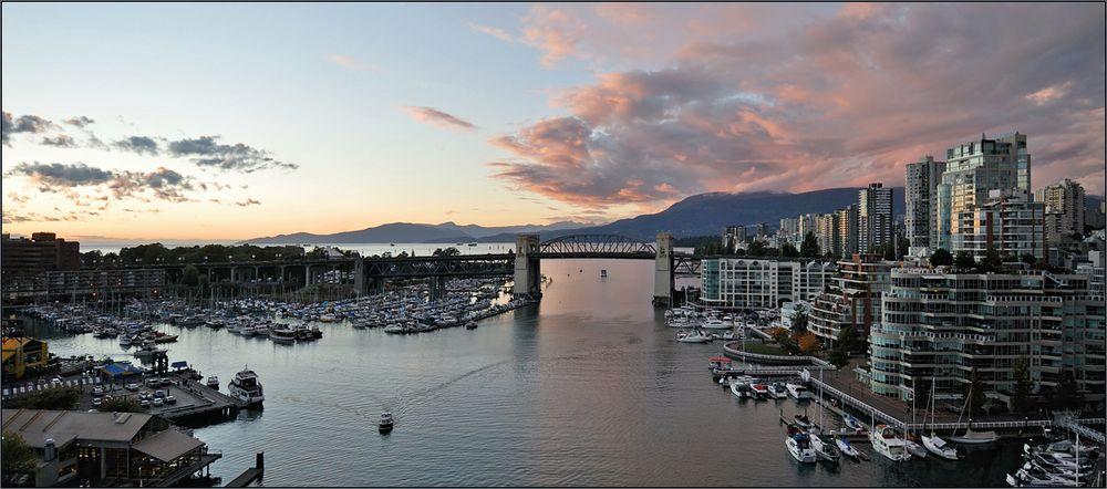 [ Vancouver: Blick nach Westen ]