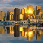 Vancouver-Sonnenuntergang