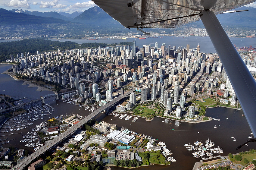 Vancouver von oben