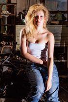 Vanessa in der Werkstatt