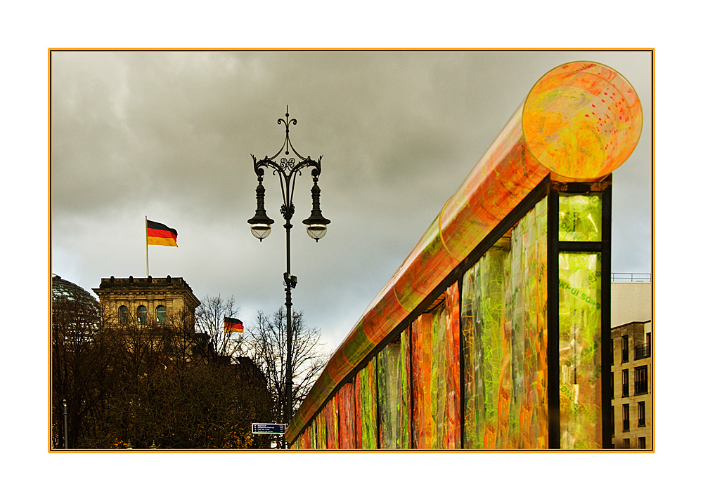Vanished Berlin Wall