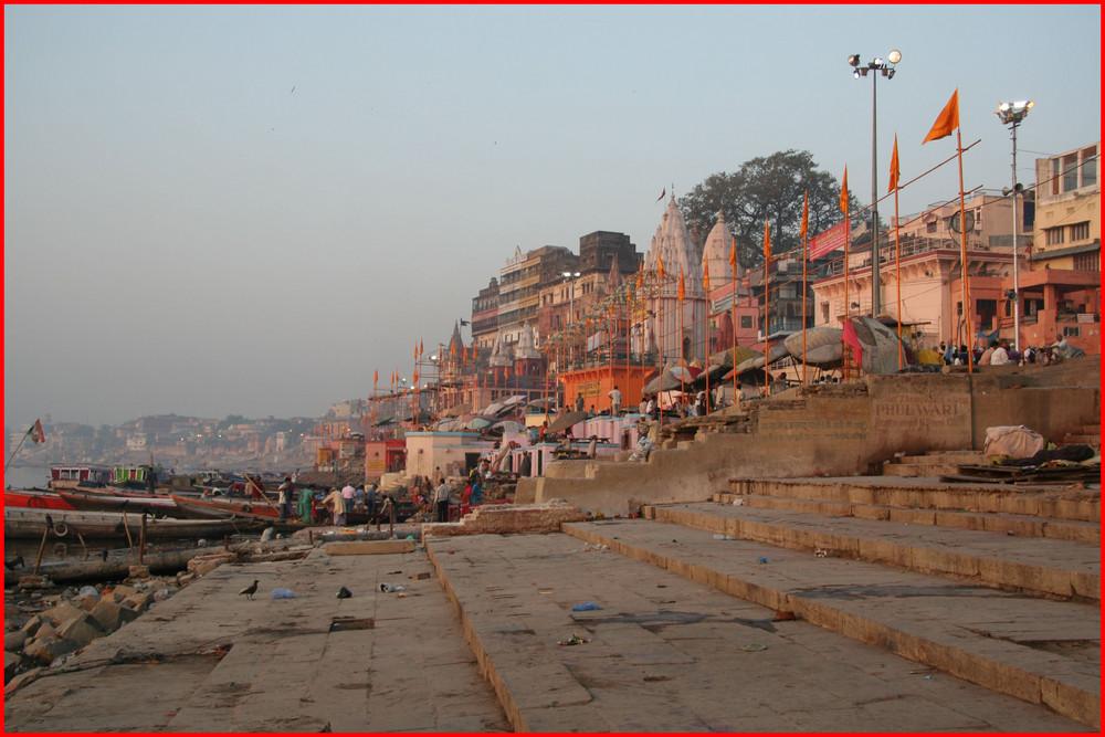 Varanasi am Morgen...