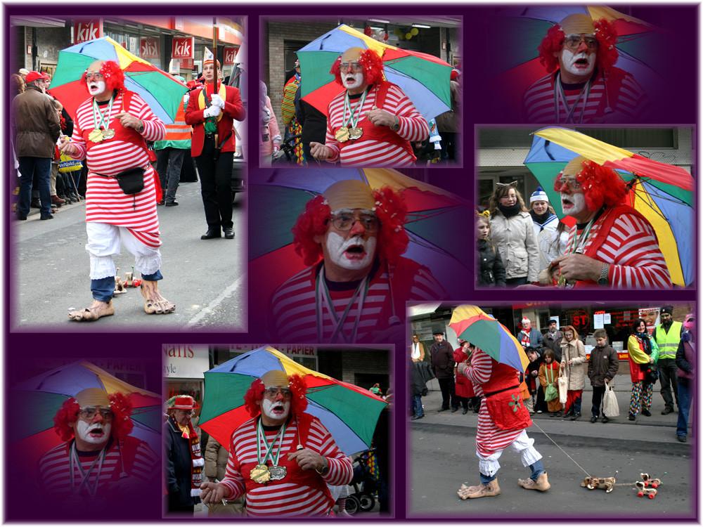 Variationen eines Clowns