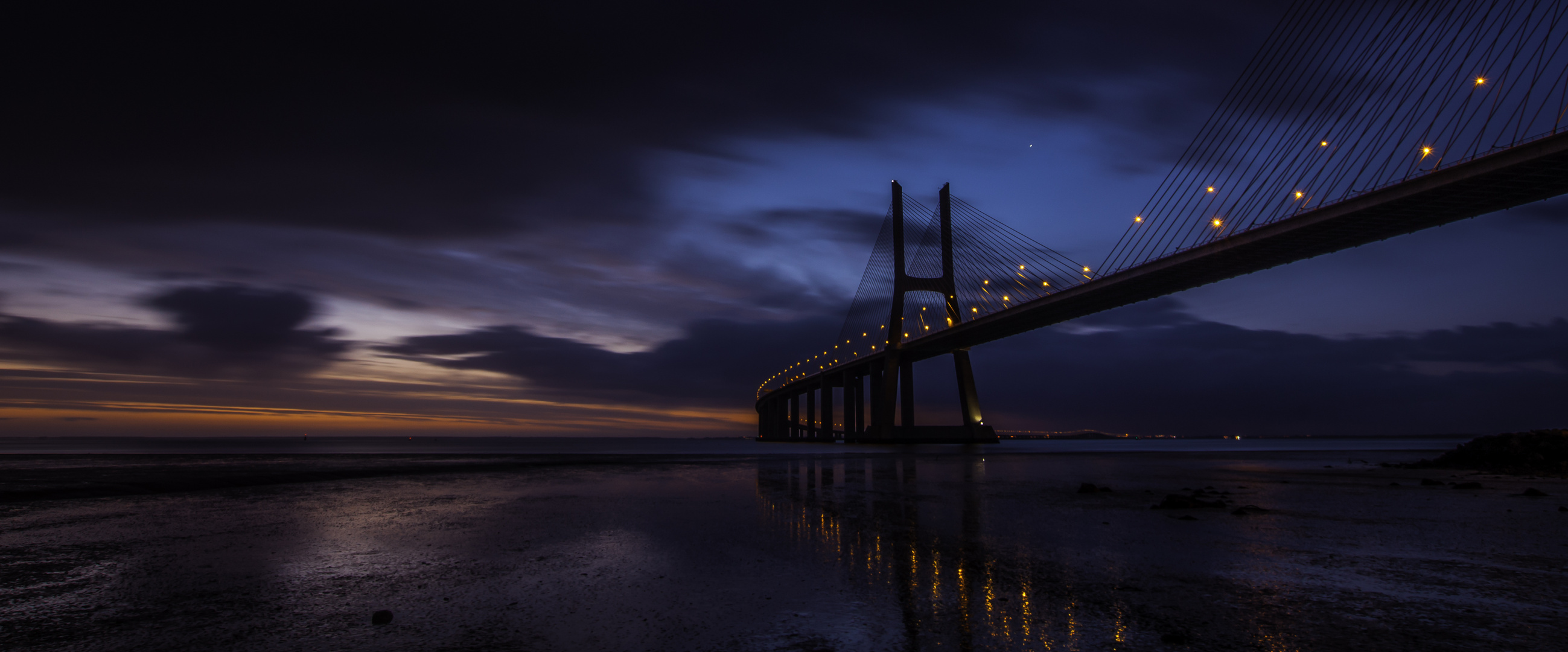 Vasco da Gama bridge. Lisbon 2