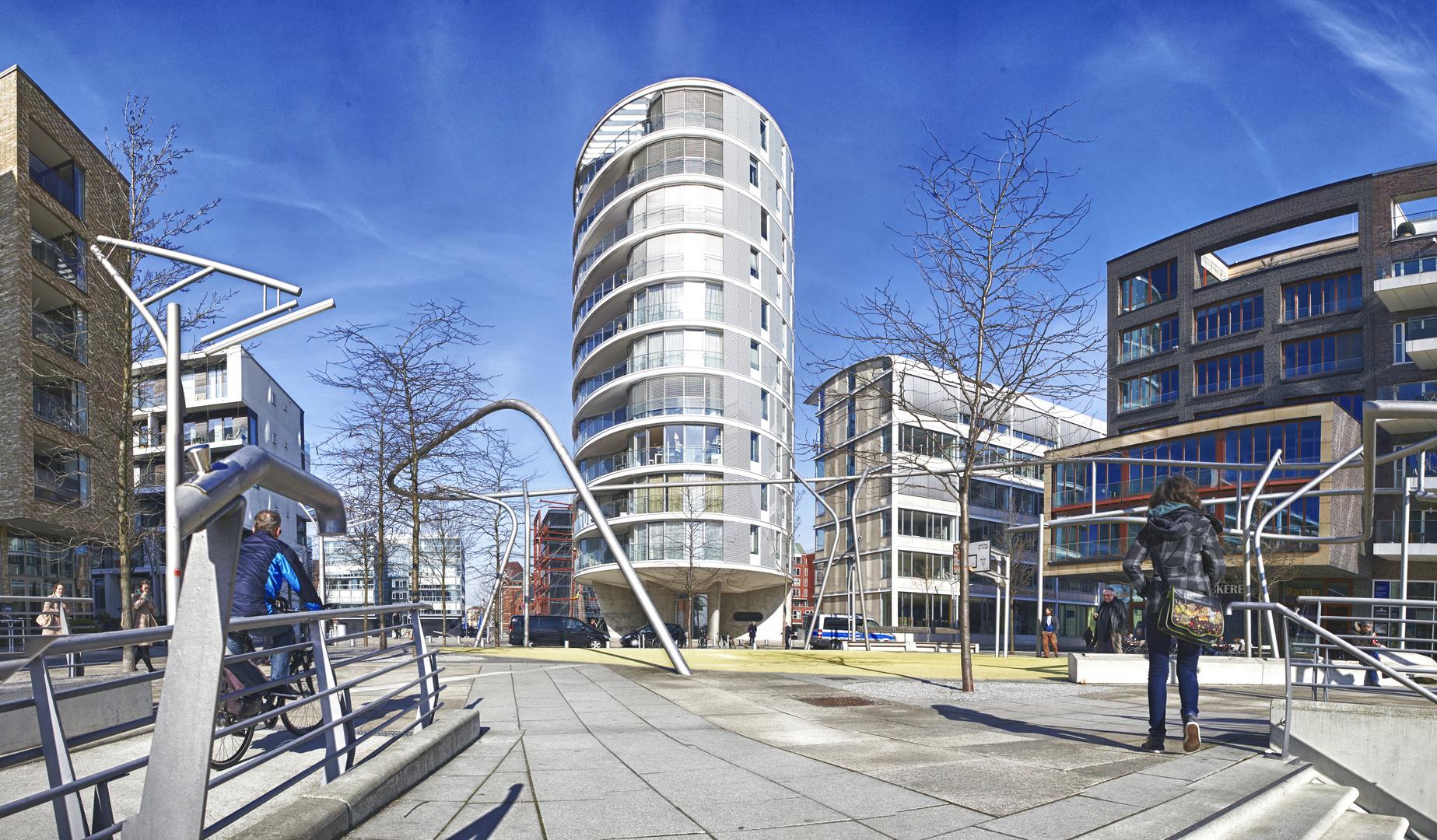 Vasco da Gama Platz, HafenCity Hamburg