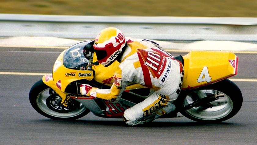 VATER HELMUT BRADEL , VICE MEISTER 1991 250 ccm........analog