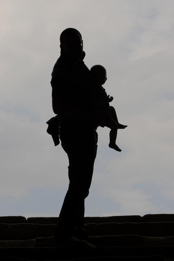 Vater und Sohn - Schatten