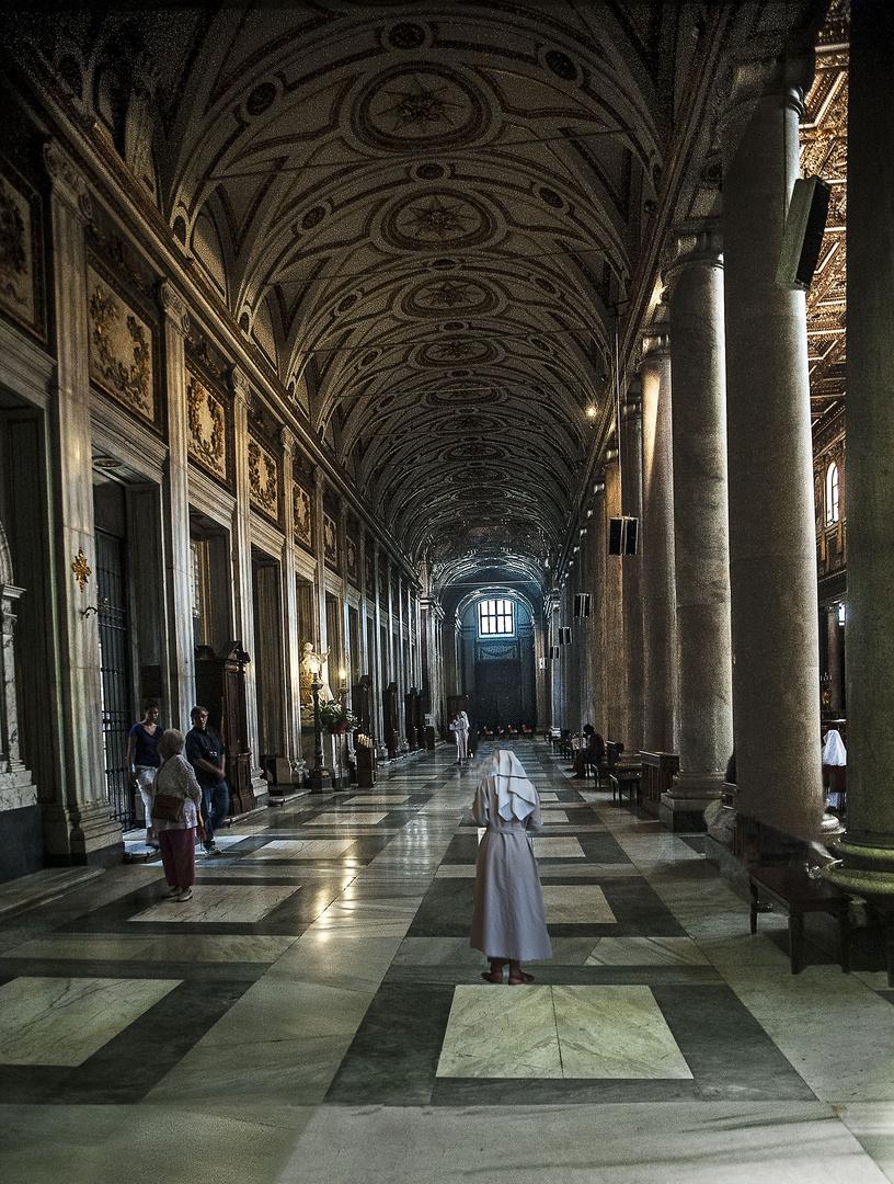 Vatican corridors