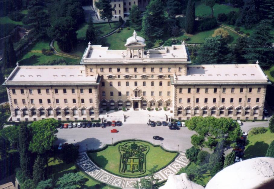 Vatikan - Regierungspalast