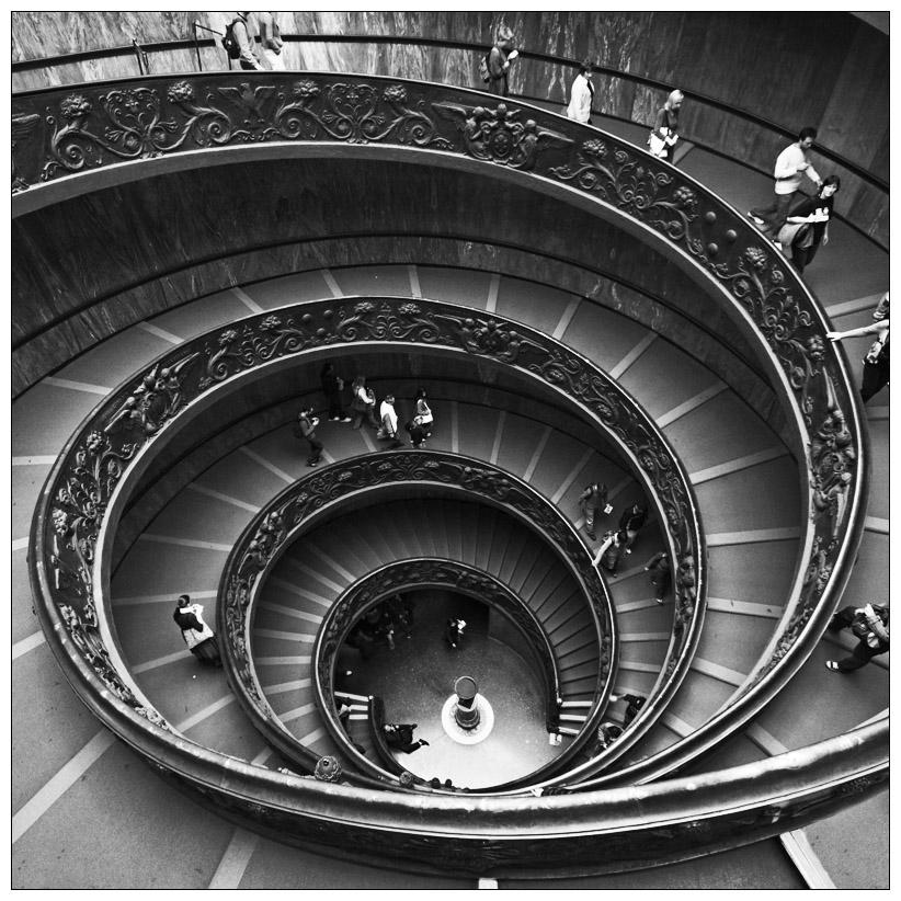 Vatikan Stairs