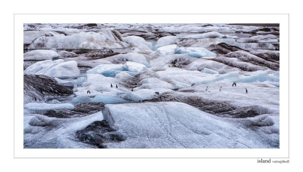 Vatnajökull Gletscher Island