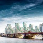 Vauxhall Bridge, London, UK. David Osborn, London.