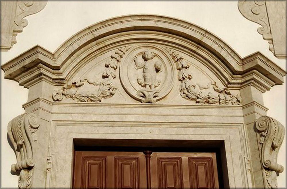 Vecchia chiesa a Odivelas.