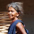 vecchia donna gadaba (regione di Koraput-Orissa)