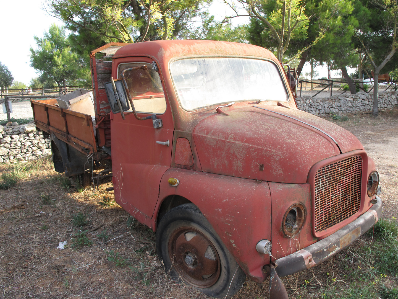 Vecchio camion in disuso...
