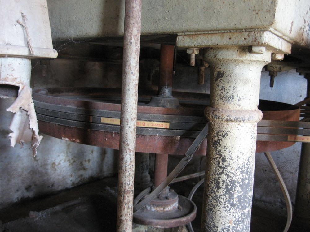 vecchio mulino per la farina (particolare)