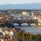 veduta da piazzale michelangelo  Firenze