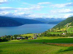 Veduta del Nordalfjord Norvegia