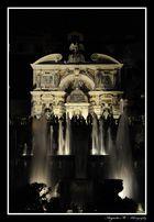 Veduta della Fontana di Nettuno e quella dell'Organo