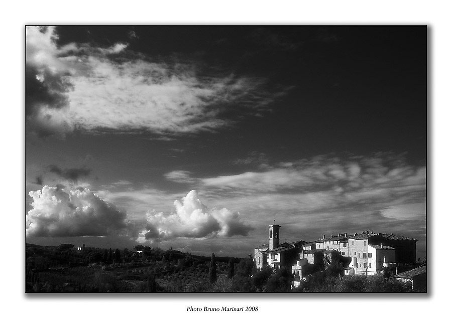 Veduta di Montecchio Peccioli (PI)