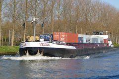 VEGAS auf dem Rhein unterwegs