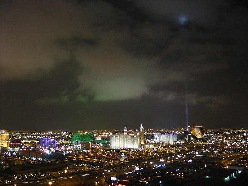 Vegas-Night [mal nicht vom Stratosphere Tower!]